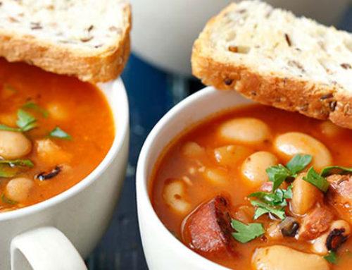 Recetas de invierno: Carillas con panceta y chorizo de Zamora